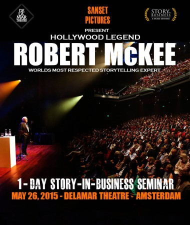 Robert McKee Story in Business Amsterdam 2015