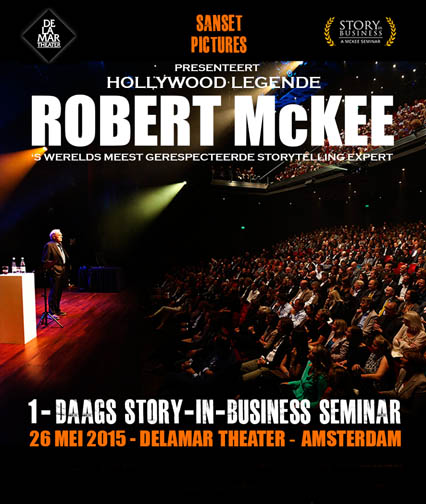 Robert McKee Amsterdam Business Seminar